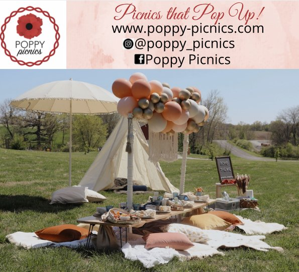 Poppy Picnics is offering $25.00 off your first luxe picnic when booked* by the end of June!! *Poppy Picnics must be contacted via email or our website by the end of June 2021 with picnic scheduled by the end of 2021 in order to receive the discount. Some exclusions apply.